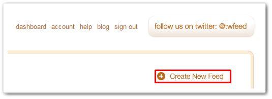 twitterfeed create-new-feed